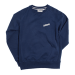 &SONS Logo Sweatshirt Navy Unisex