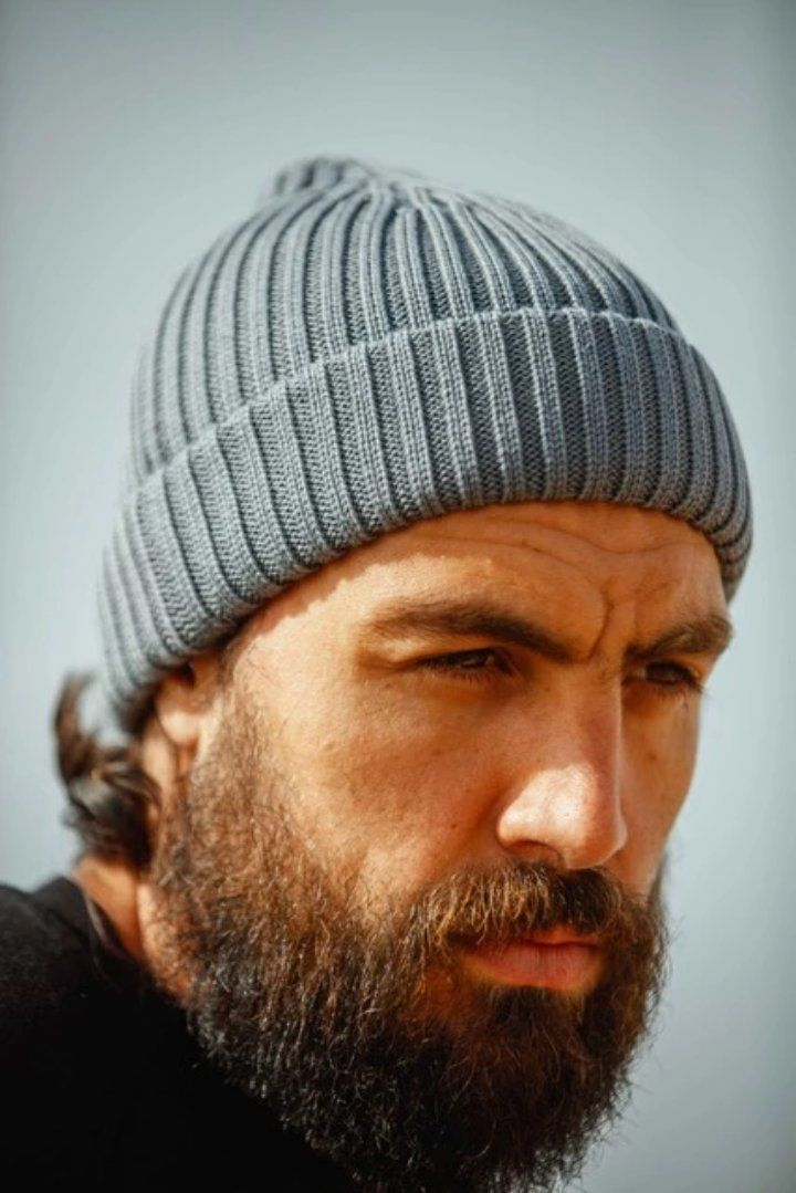 Uniform Grey Atlantic Watch Cap / Beanie