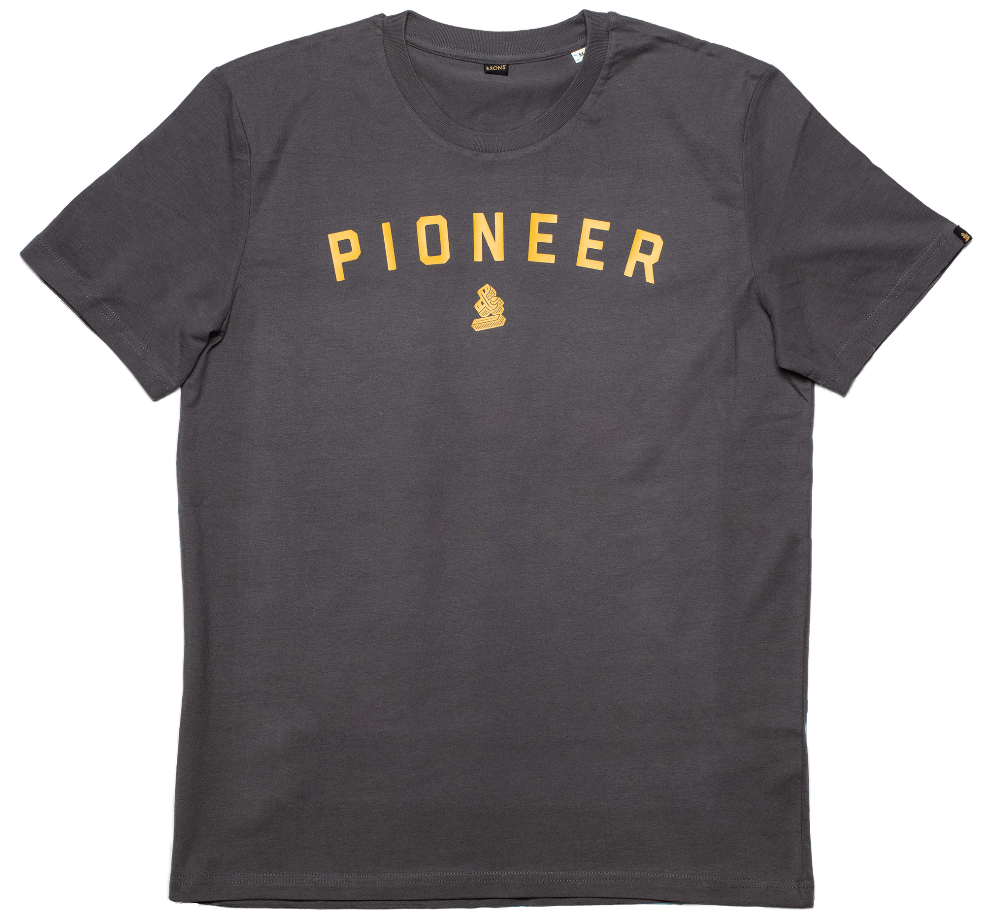 PIONEER &SONS T-Shirt - Charcoal Shirts &sonsclothing