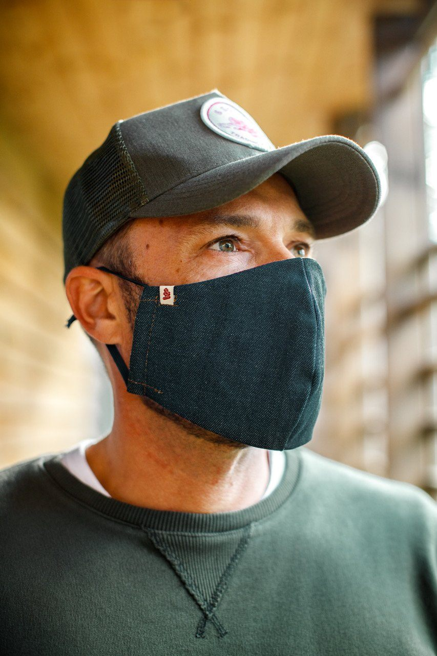 &SONS face mask with filter pocket accessories &sonsclothing