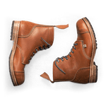Tan Hudson Hand Made Boots accessories &sonsclothing