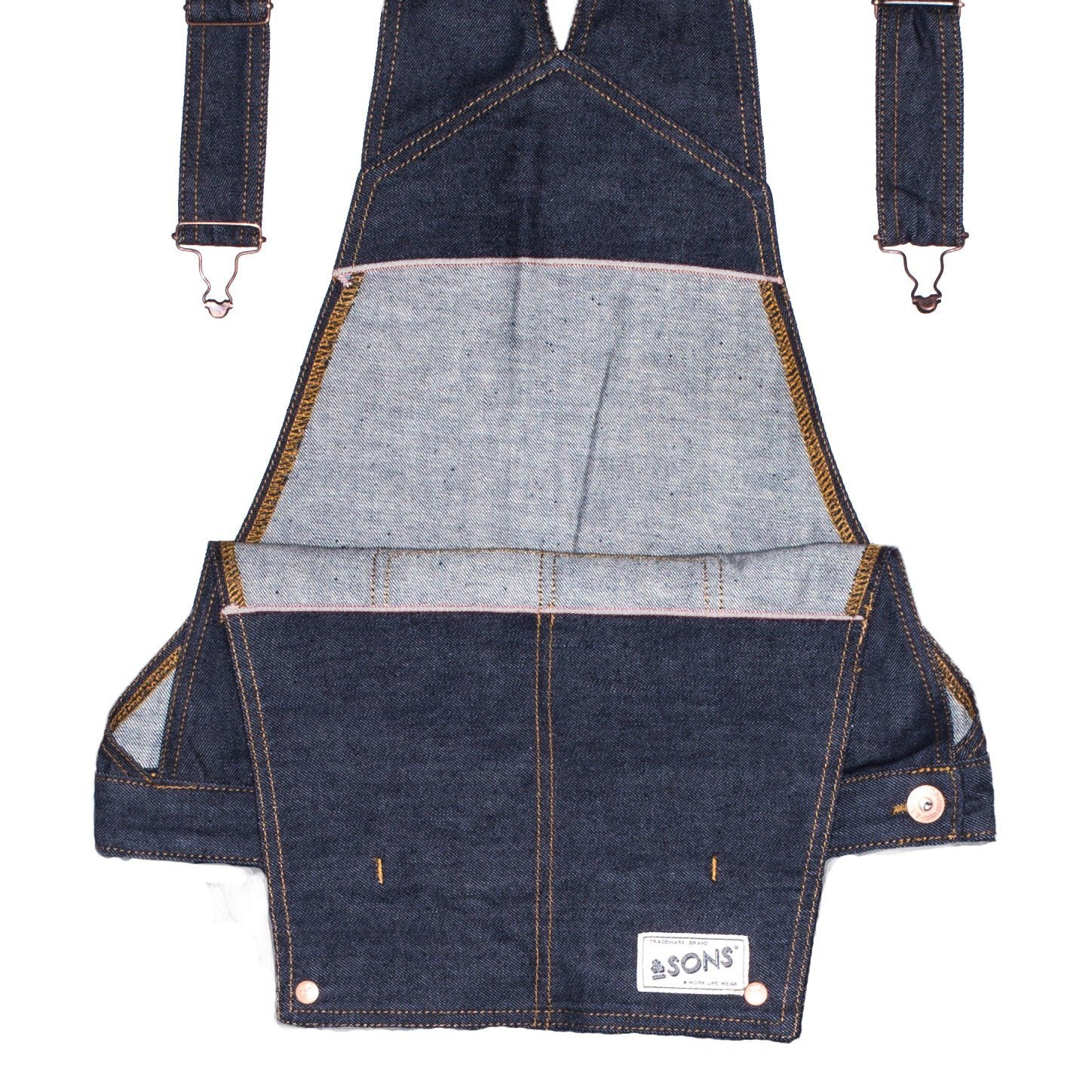 &SONS Women's Union Overalls Overalls &sonsclothing
