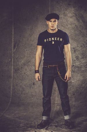 PIONEER &SONS T-Shirt - Navy Shirts &sonsclothing