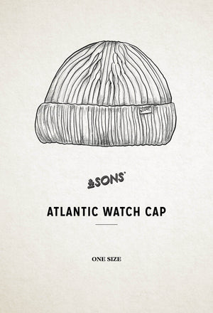 Ecru Atlantic Watch Cap / Beanie