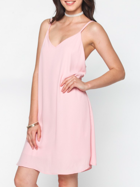 Blush Mid-Length Dress