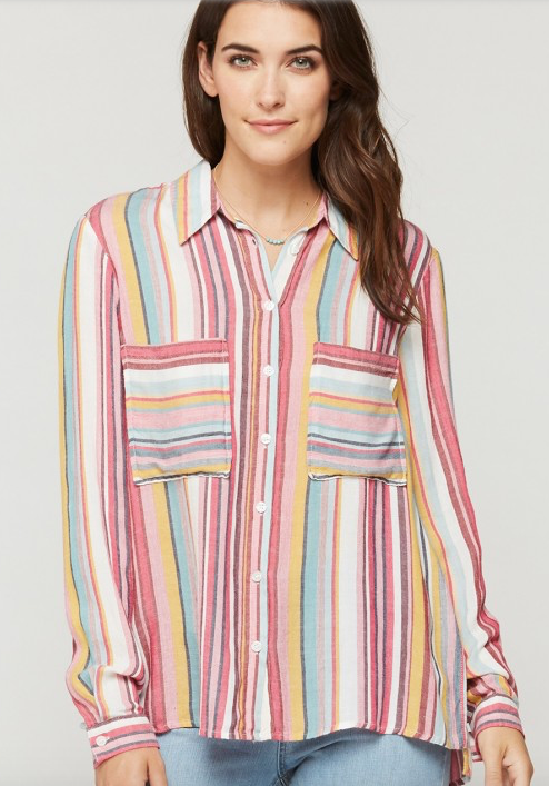 Parisa Striped Top