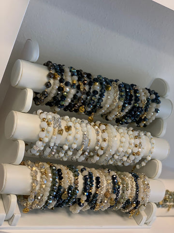 Erimish Beaded Bracelet Set - Set of 5