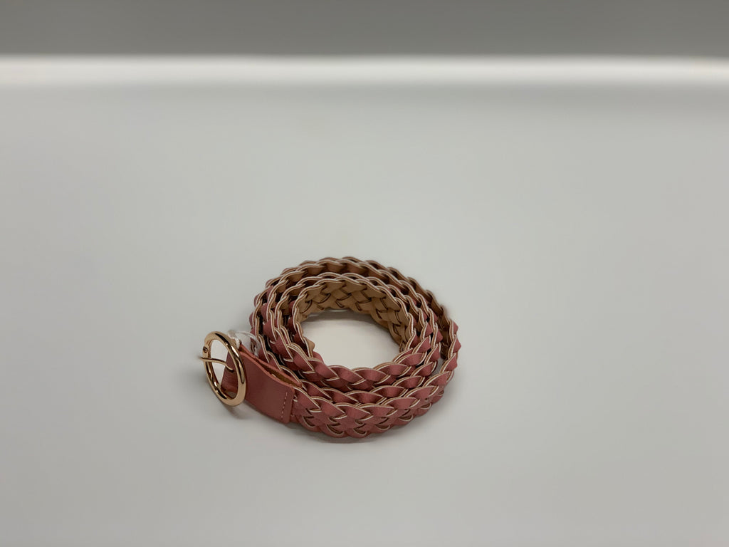 Blush Braided Belt