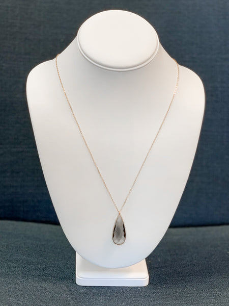 Claire Teardrop Necklace