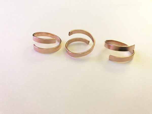 Adjustable Rose Gold Ring