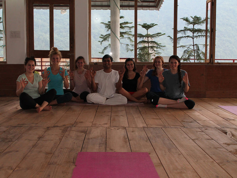 Yoga vacation in the Himalayan Foothills - Rishikesh, India