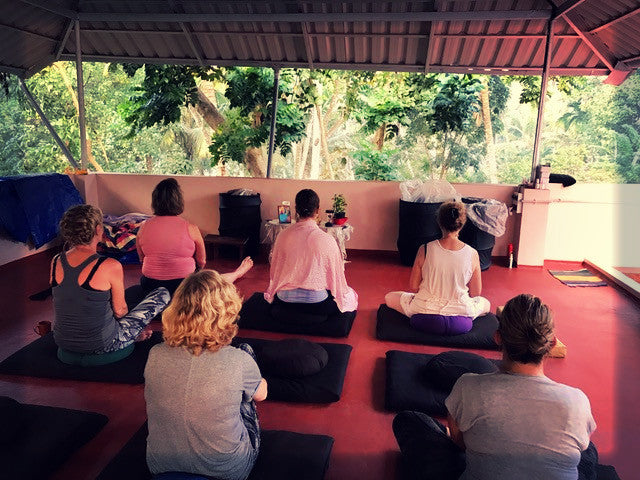Zen, Yoga and Mindfulness in coastal Kerala