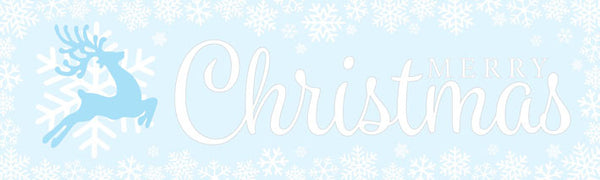 Christmas Banner Snow Ice Christmas