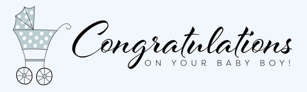 Congratulations on baby banner Uk printed Banner