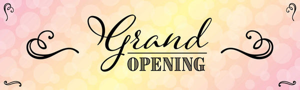 Grand opening vinyl banner UK Printed event banners