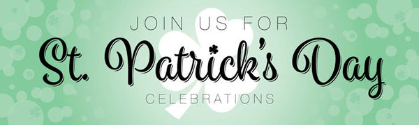 St patricks st paddy day vinyl banner UK Printed event banners