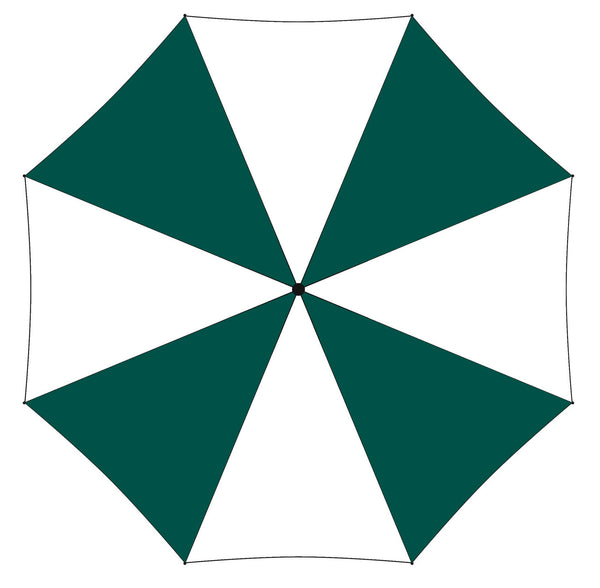 Printed Promotional Umbrella In Green