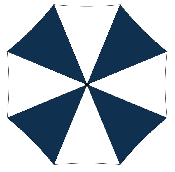 Printed Promotional Umbrella Navy Blue