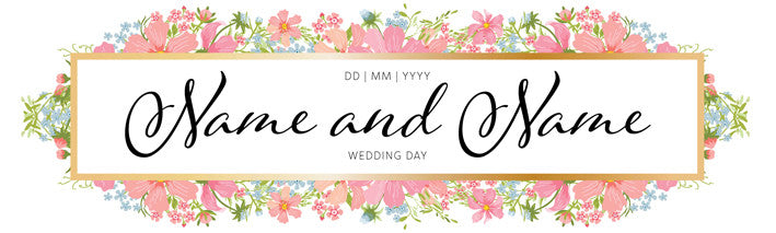 Printed Wedding Banners Bdp Creative Solutions Bdp