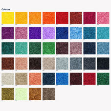 Range of colours for printed welcome mat