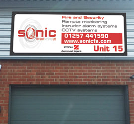 Outdoor Sign - Aluminium