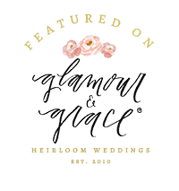 glamour and grace party crush studio wedding feature