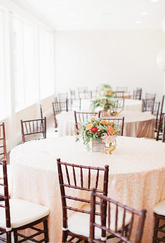 Boho inspired tablescape at marina front venue