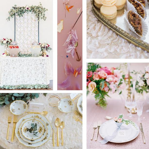 wedding linen inspiration