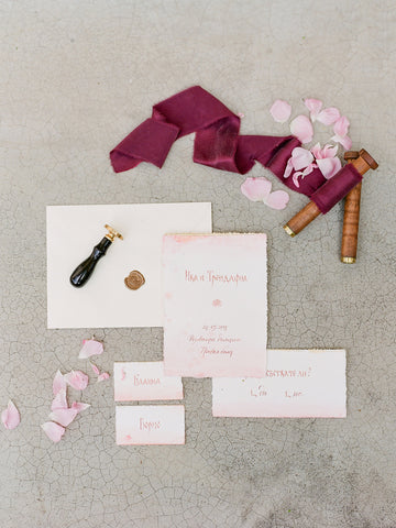 Berry Silk Ribbon - Partycrushstudio