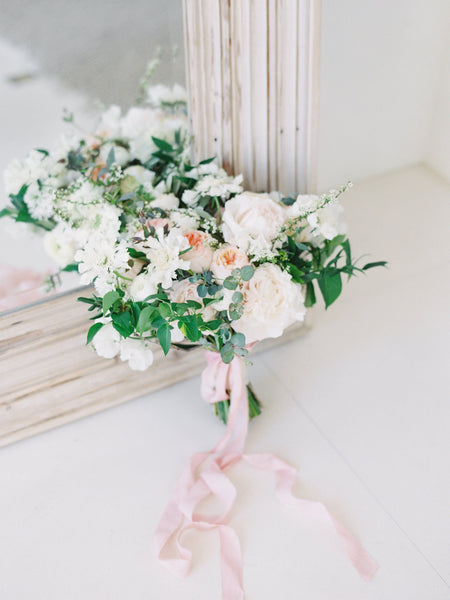 Peach Silk Ribbon | Silk Ribbon