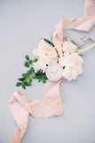 Blush Silk Ribbon - Partycrushstudio