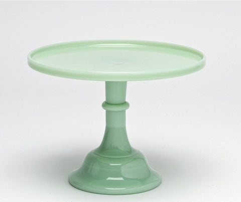 Jadeite Milk Glass Cake Stand Party Crush Studio