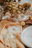 Rust Gauze Table Runner | Table Linen