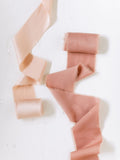 Coral Silk Ribbon | Silk Ribbon