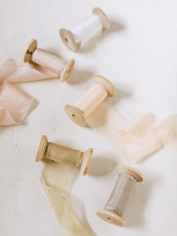 Buttercream Silk Ribbon | Silk Ribbon