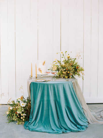 Ash Gauze Table Runner