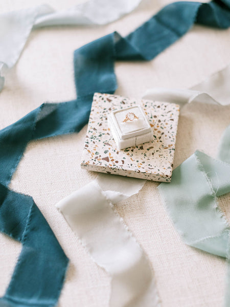 Indigo Blue Silk Ribbon | Silk Ribbon