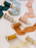 Champagne Silk Ribbon | Silk Ribbon