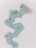 Sky Blue Silk Ribbon | Silk Ribbon