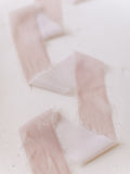 Pale Blush Silk Velvet Ribbon | Silk Velvet Ribbon