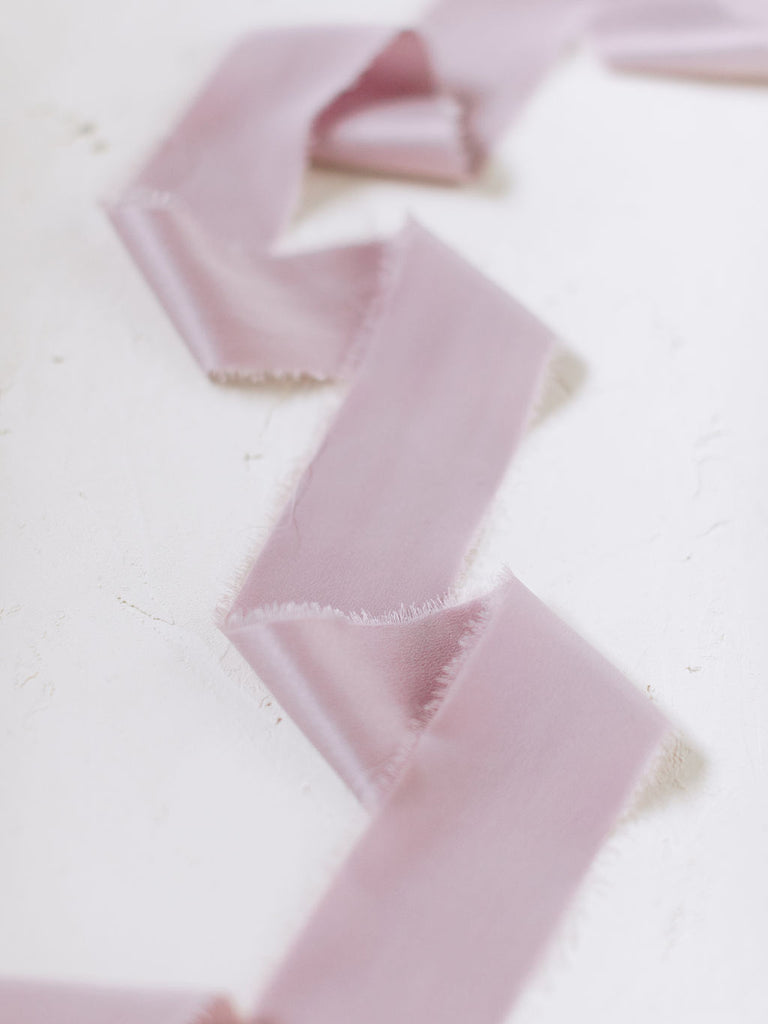 Lilac Silk Ribbon | Silk Ribbon