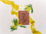 Lemon Silk Ribbon | Silk Ribbon