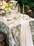 Peach Silk Table Runner | Silk Table Runner