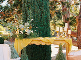 Marigold Silk Table Runner | Silk Table Runner