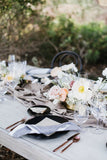 Taupe Silk Table Runner | Table Runner