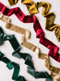 Silk Velvet Ribbon | Winter Collection