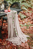 Champagne Chiffon Table Runner - Partycrushstudio