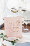 wedding calligrapher | styling textiles for photographers | silk ribbon