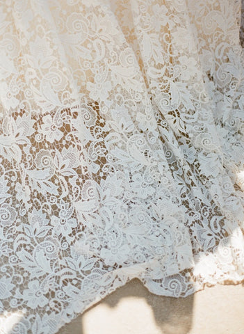 lace floral table overlay