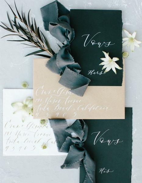 Smoke Silk Ribbon | Silk Ribbon
